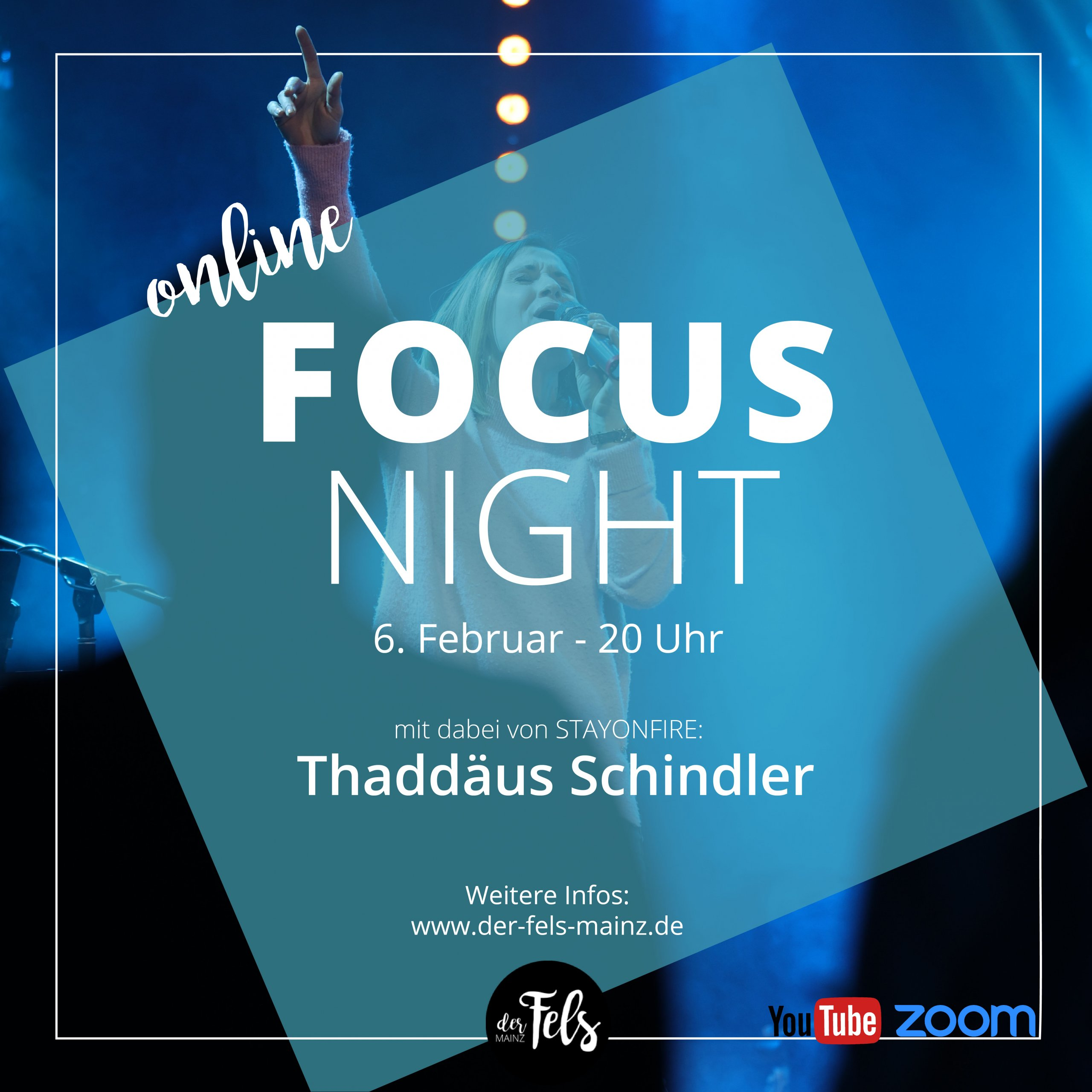Focusnight Fels Worship Lobpreisabend